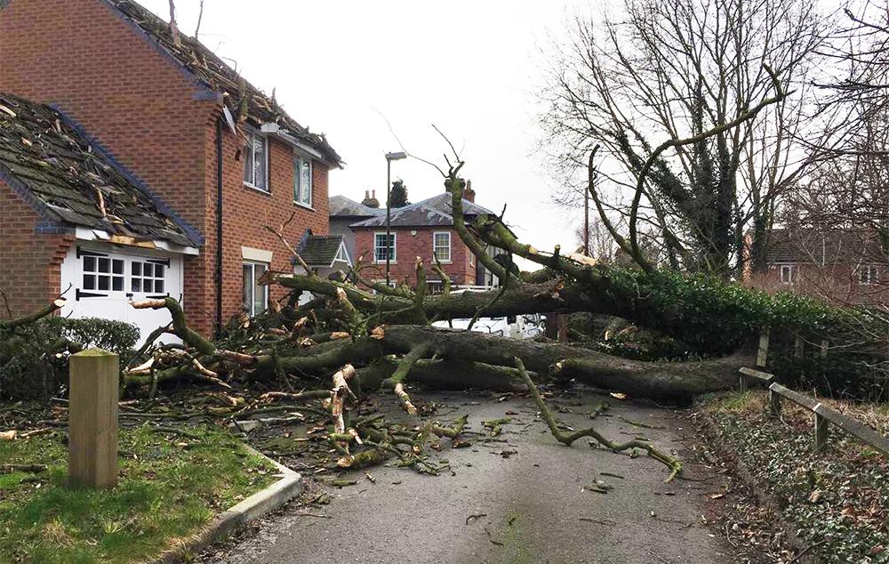 Storm Doris Home Insurance